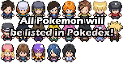 Pokemon Clover Pokedex